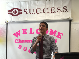 Meet Arian: Burnaby/New Westminster's 2016 Champion of SUCCESS!